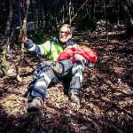 Il ritrovamento e la commozione dei soccorritori